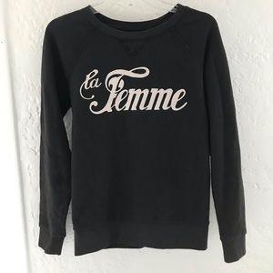 La femme sweatshirt